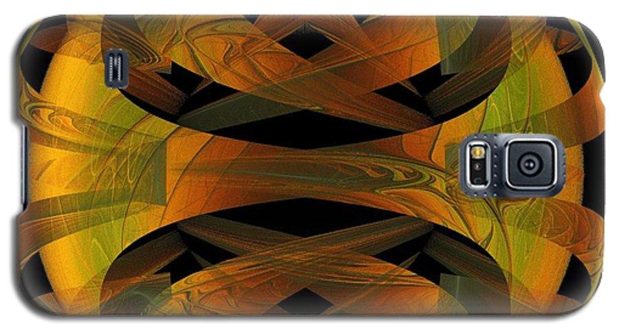Digital Art Galaxy S5 Case featuring the digital art Scarab by Amanda Moore