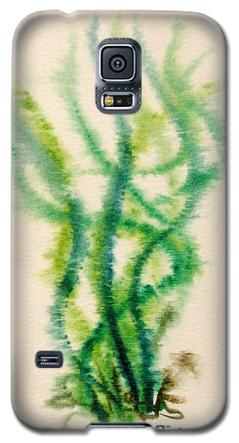 Sea Galaxy S5 Case featuring the painting Sea Bed One by Dave Martsolf