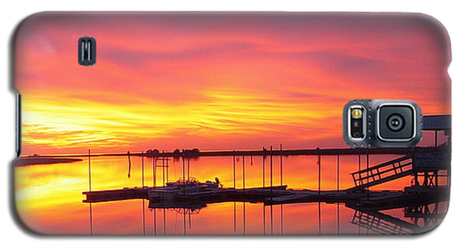 Sunsets Galaxy S5 Case featuring the photograph Seeing Is Believing by Debbie May