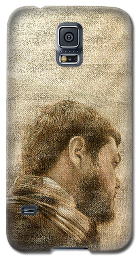 Galaxy S5 Case featuring the painting Self by Joe Velez