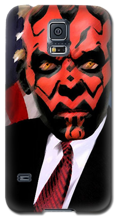 Star Wars Galaxy S5 Case featuring the digital art Senator Darth Maul by Eric Forster