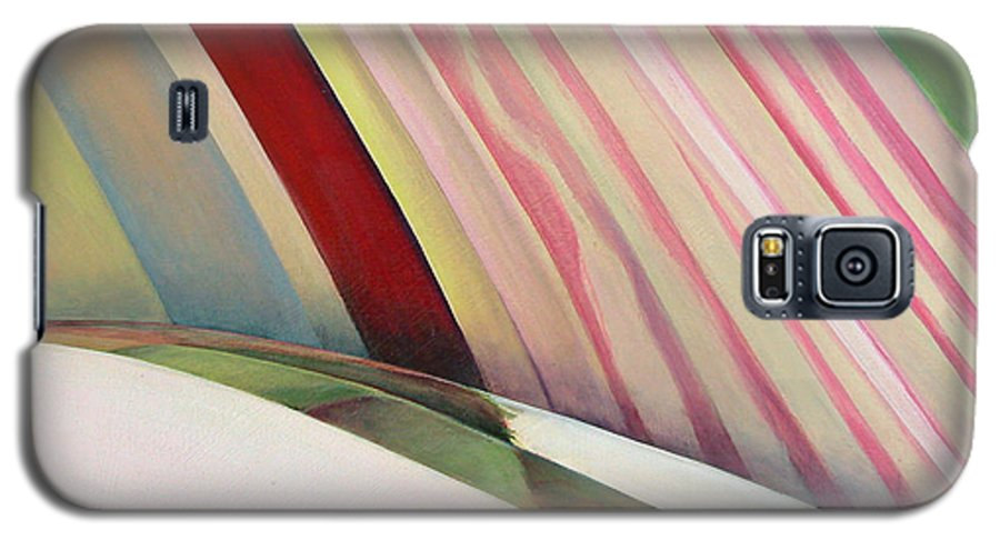 Abstract Galaxy S5 Case featuring the painting Sens 1 by Muriel Dolemieux