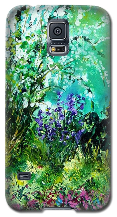 Tree Galaxy S5 Case featuring the painting Seringa by Pol Ledent