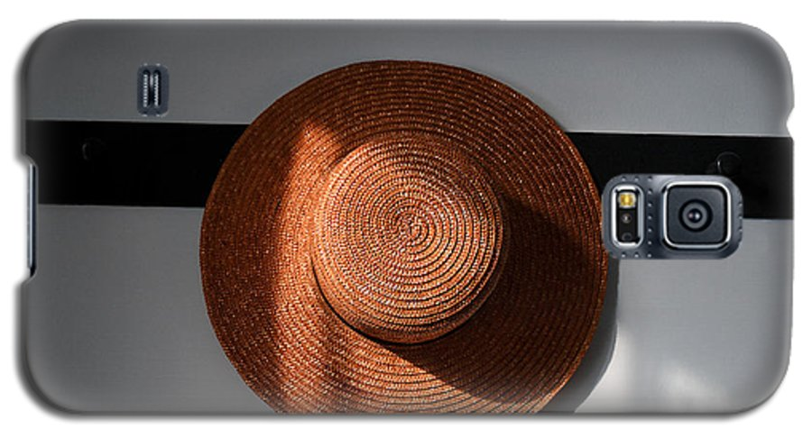 Shaker Galaxy S5 Case featuring the photograph Shaker Hat by Lone Dakota Photography
