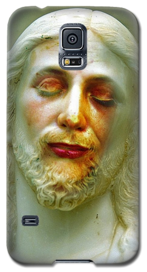 Jesus Galaxy S5 Case featuring the photograph Shesus by Skip Hunt