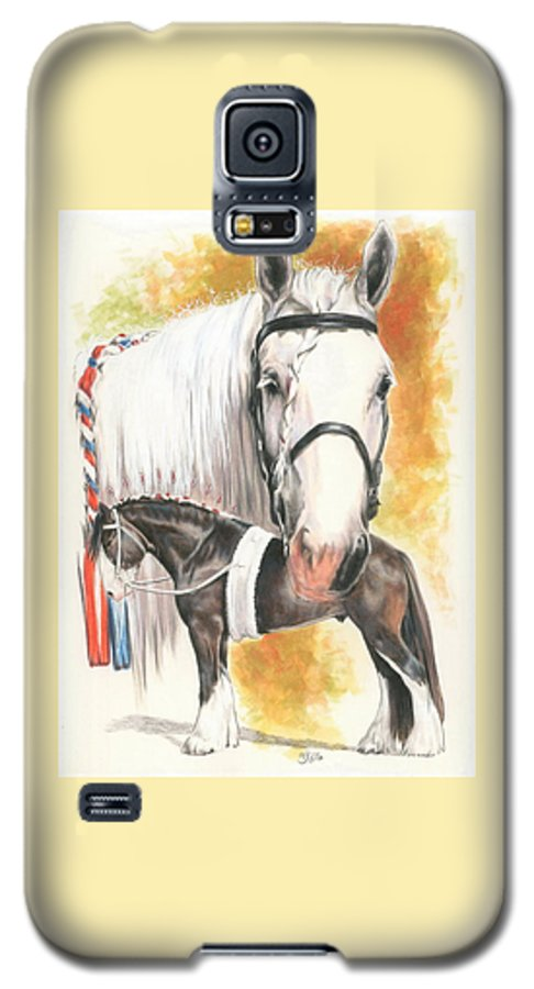 Shire Galaxy S5 Case featuring the mixed media Shire by Barbara Keith