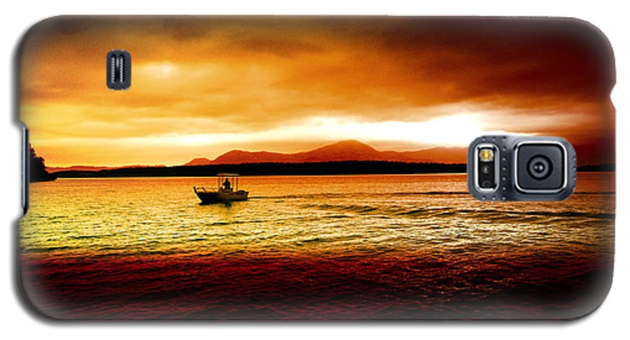 Landscape Galaxy S5 Case featuring the photograph Shores Of The Soul by Holly Kempe