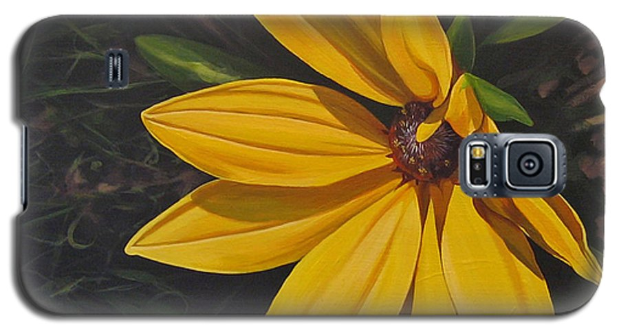 Wildflower Galaxy S5 Case featuring the painting Sign Of Summer by Hunter Jay