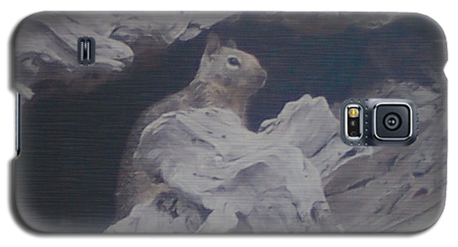 Squirrel Galaxy S5 Case featuring the photograph Silent Observer by Pharris Art