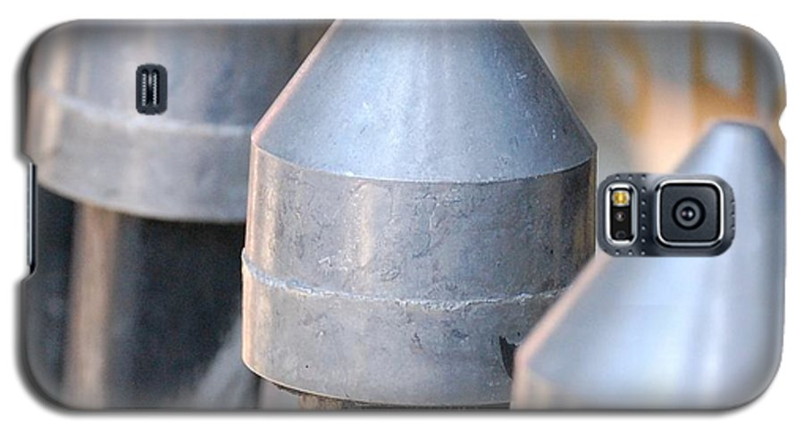 Gate Galaxy S5 Case featuring the photograph Silver Bullets by Debbi Granruth