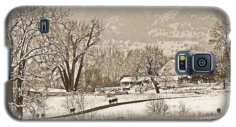 Landscape Galaxy S5 Case featuring the photograph Simpler Times by Marilyn Hunt
