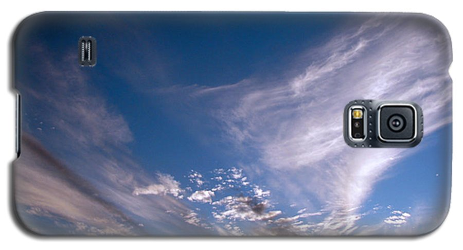 Skies Galaxy S5 Case featuring the photograph Sky by Amanda Barcon