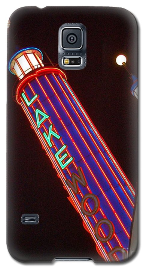 Neon Galaxy S5 Case featuring the photograph Sky Lights by Debbi Granruth