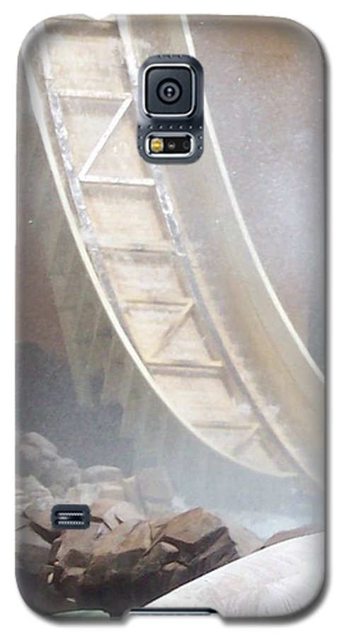 Slide Galaxy S5 Case featuring the photograph Slide Splash by Pharris Art