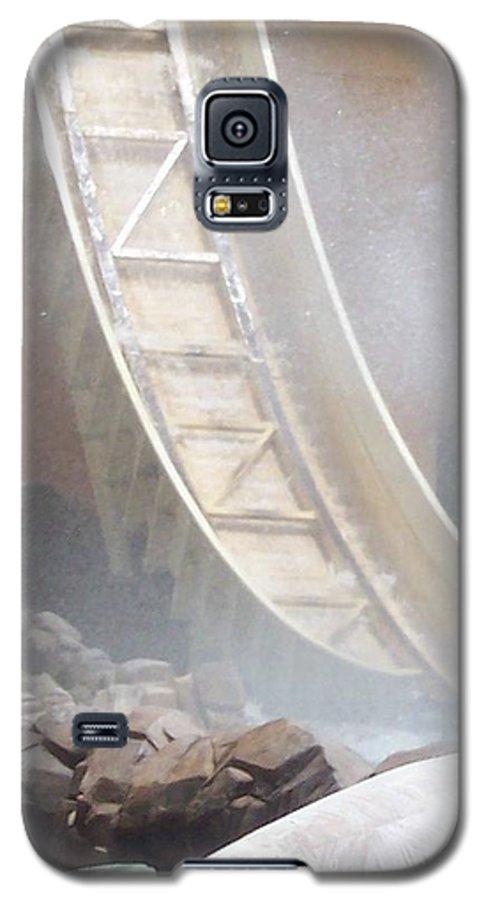 Slide Galaxy S5 Case featuring the photograph Slide Splash by Pharris Art