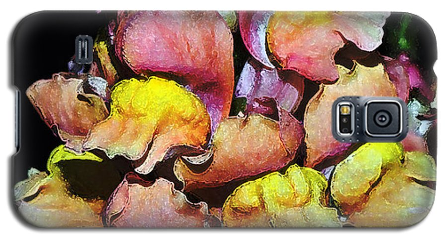 Snapdragon Galaxy S5 Case featuring the photograph Snapdragons by Al Mueller