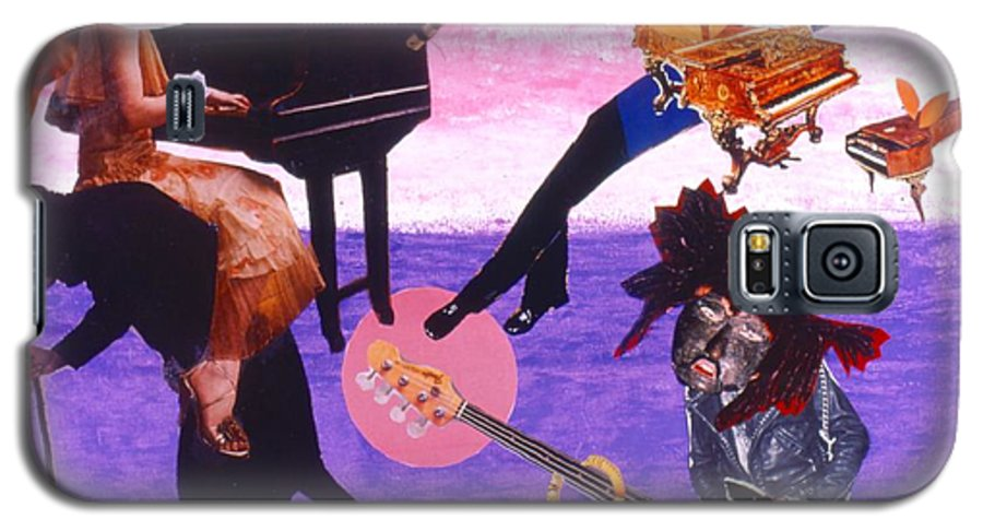 Grand Piano Galaxy S5 Case featuring the drawing Soap Scene #21 Beggar Belief by Minaz Jantz