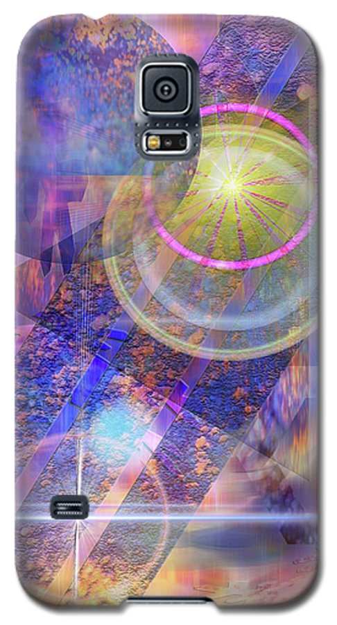 Solar Progression Galaxy S5 Case featuring the digital art Solar Progression by John Beck