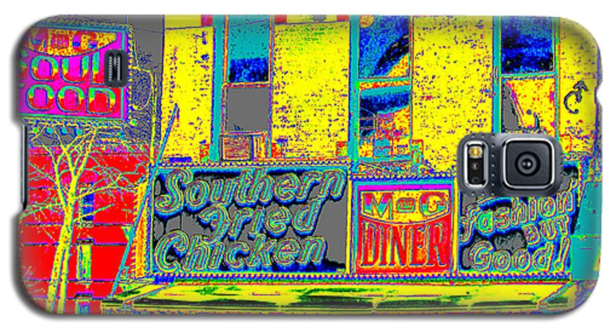 Harlem Galaxy S5 Case featuring the photograph Soul Food by Steven Huszar
