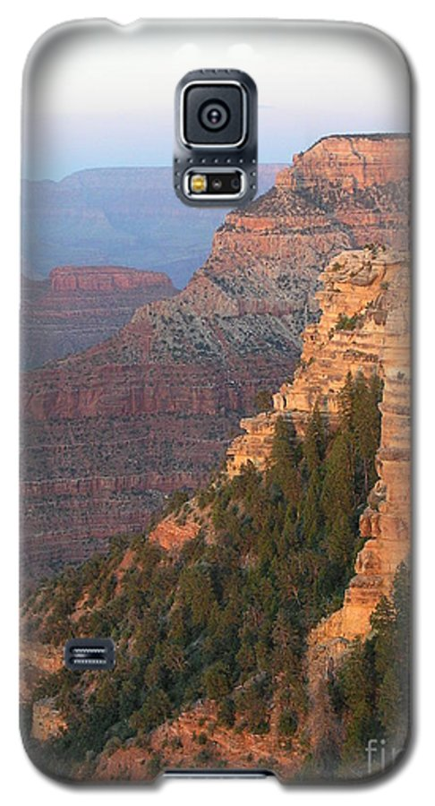 Sunset Galaxy S5 Case featuring the photograph South Rim Sunset by Louise Magno