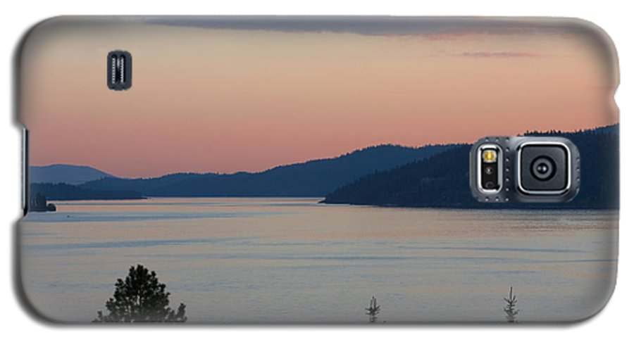 Sunset Galaxy S5 Case featuring the photograph Southern Skies In Pink by Idaho Scenic Images Linda Lantzy