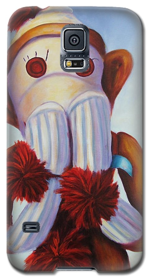 Children Galaxy S5 Case featuring the painting Speak No Bad Stuff by Shannon Grissom