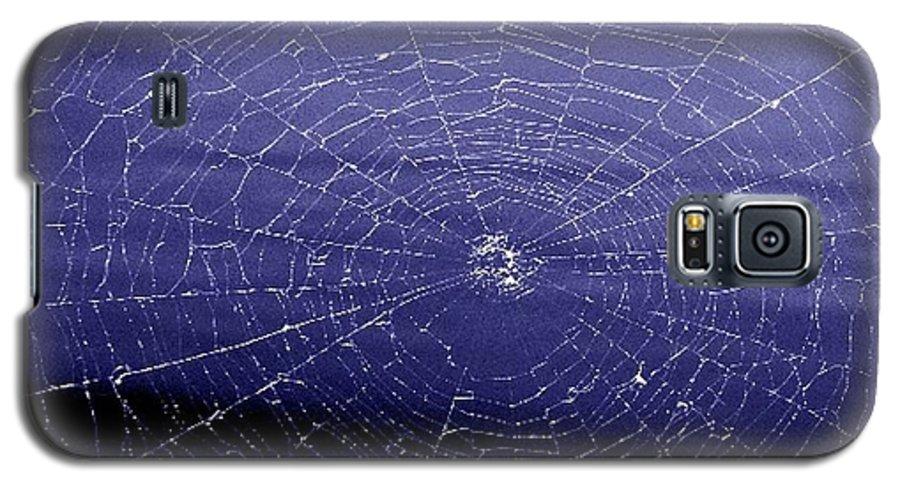 Web Galaxy S5 Case featuring the digital art Spiderweb by Kenna Westerman