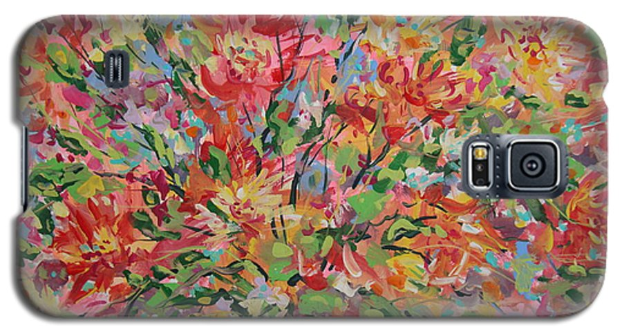 Painting Galaxy S5 Case featuring the painting Splendor. by Leonard Holland