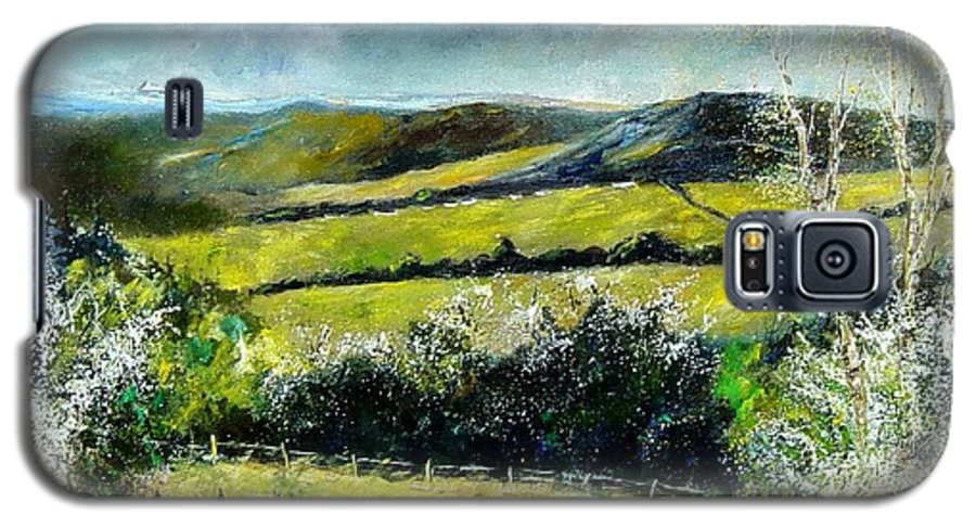 Landscape Galaxy S5 Case featuring the print Spring 79 by Pol Ledent