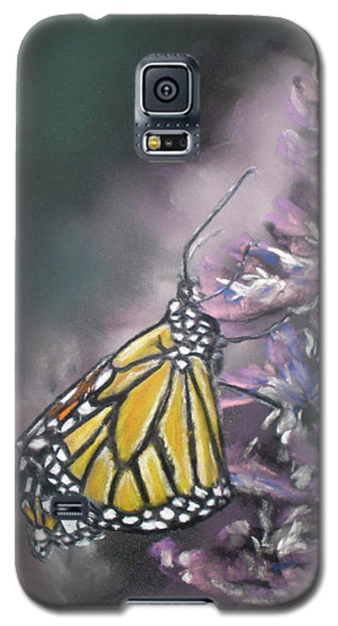 Spring Galaxy S5 Case featuring the painting Spring by Cathy Weaver