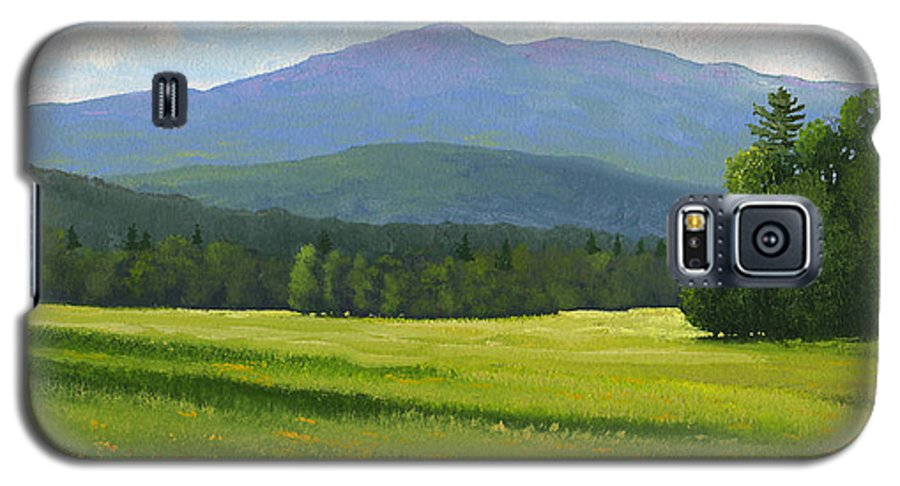 Landscape Galaxy S5 Case featuring the painting Spring Vista by Frank Wilson