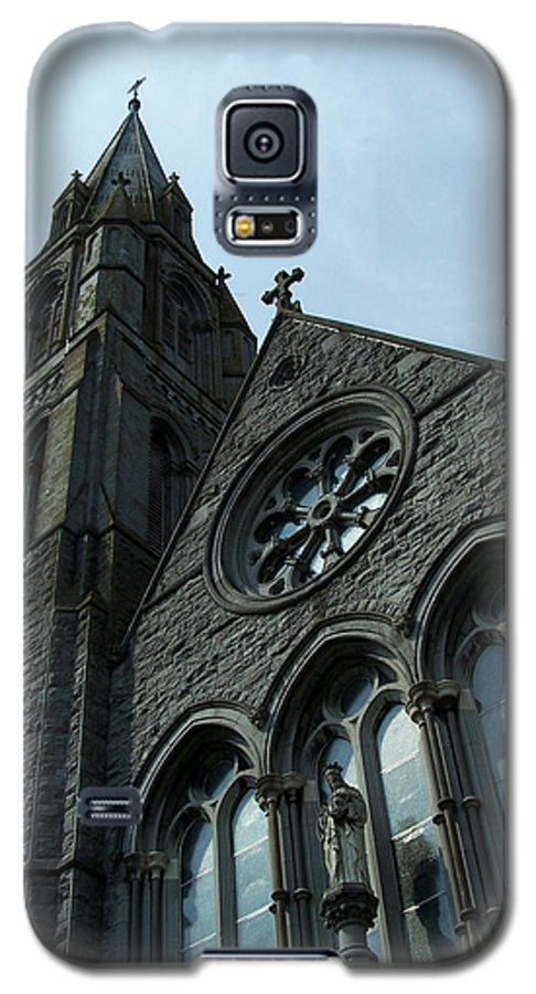 Ireland Galaxy S5 Case featuring the photograph St. Mary's Of The Rosary Catholic Church by Teresa Mucha