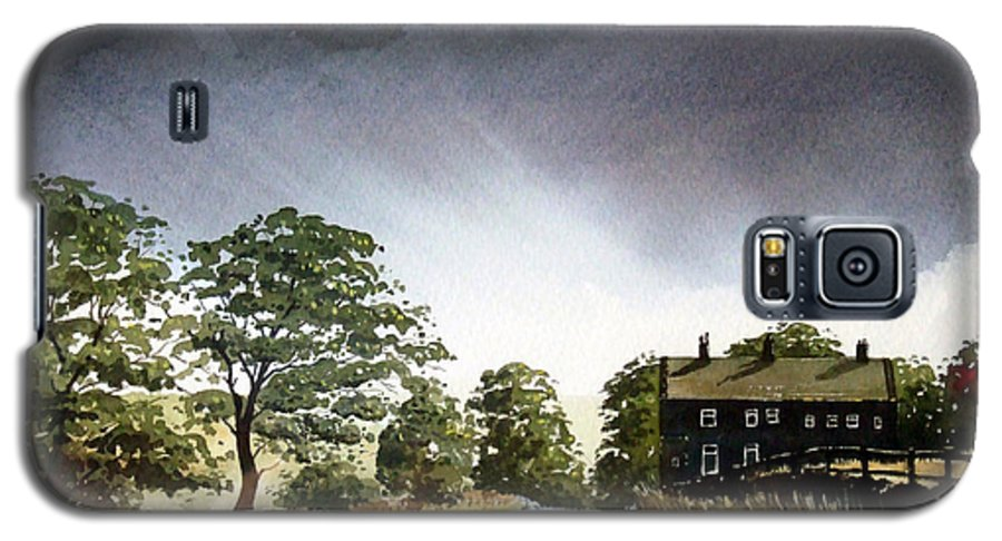 Landscape Galaxy S5 Case featuring the painting Stainland Dean by Paul Dene Marlor