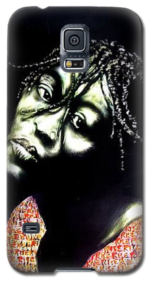 Galaxy S5 Case featuring the mixed media Still We Rise by Chester Elmore