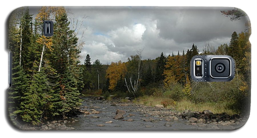 Nature Galaxy S5 Case featuring the photograph Stream At Tettegouche State Park by Kathy Schumann