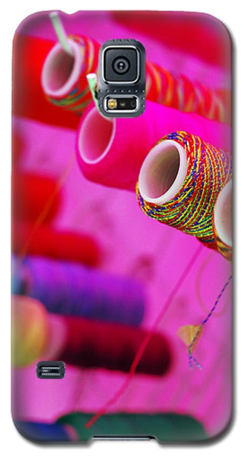 Color Galaxy S5 Case featuring the photograph String Theory by Skip Hunt