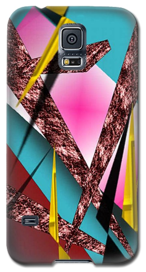 Abstracts Galaxy S5 Case featuring the digital art Structure by Brenda L Spencer