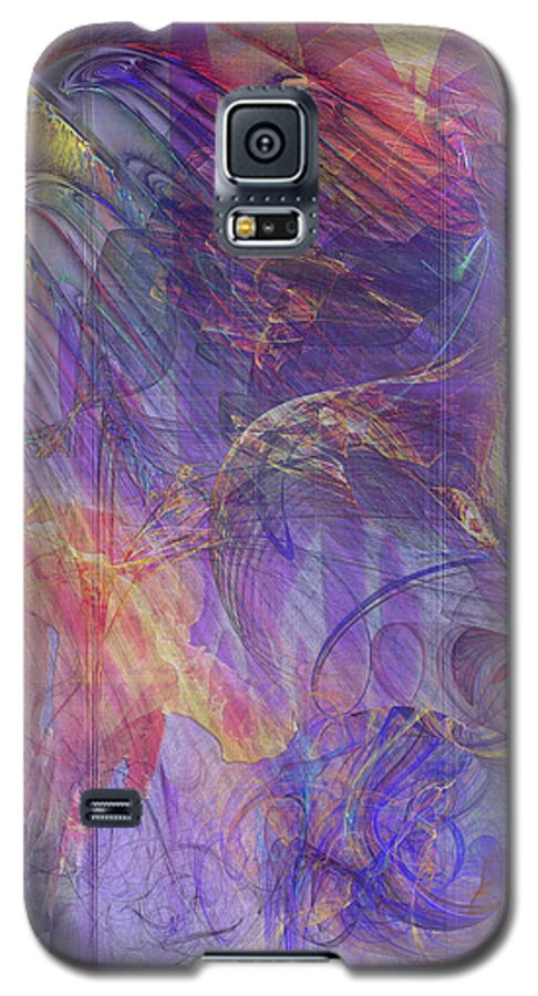 Summer Awakes Galaxy S5 Case featuring the digital art Summer Awakes by John Beck