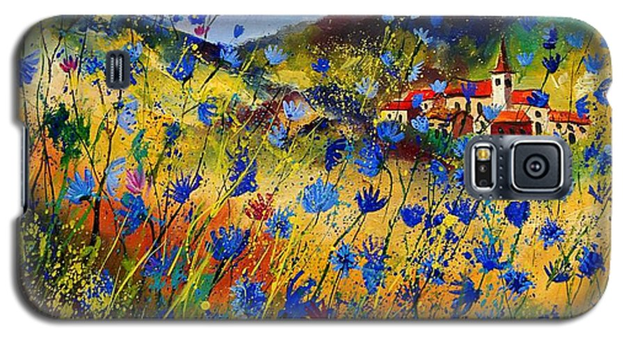 Flowers Galaxy S5 Case featuring the painting Summer Glory by Pol Ledent