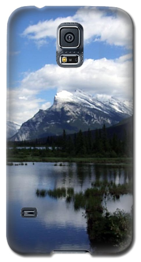 Landscape Galaxy S5 Case featuring the photograph Summertime In Vermillion Lakes by Tiffany Vest