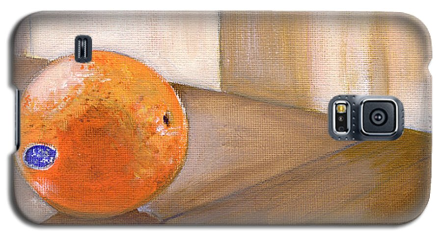 Food Galaxy S5 Case featuring the painting Sunkist by Sarah Lynch