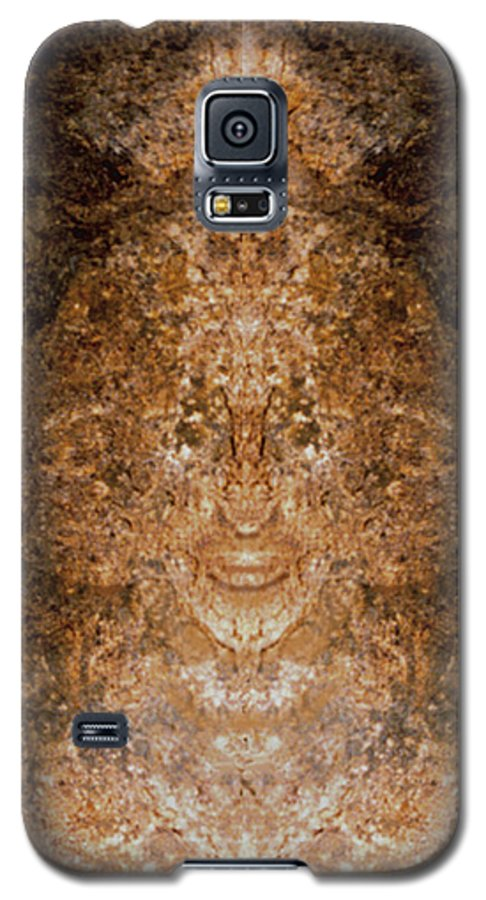 Rocks Galaxy S5 Case featuring the photograph Sunqueen Of Woodstock by Nancy Griswold