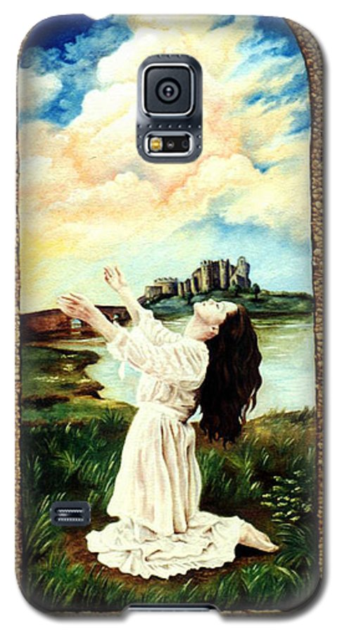 Christian Galaxy S5 Case featuring the painting Surrender by Teresa Carter