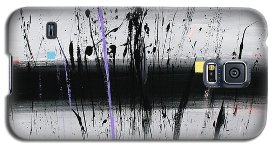 Swamp Galaxy S5 Case featuring the painting Swamp 2008 by Mario Zampedroni