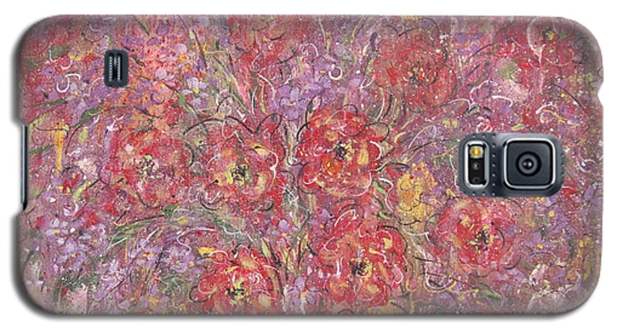 Still Life Galaxy S5 Case featuring the painting Sweet Memories by Natalie Holland
