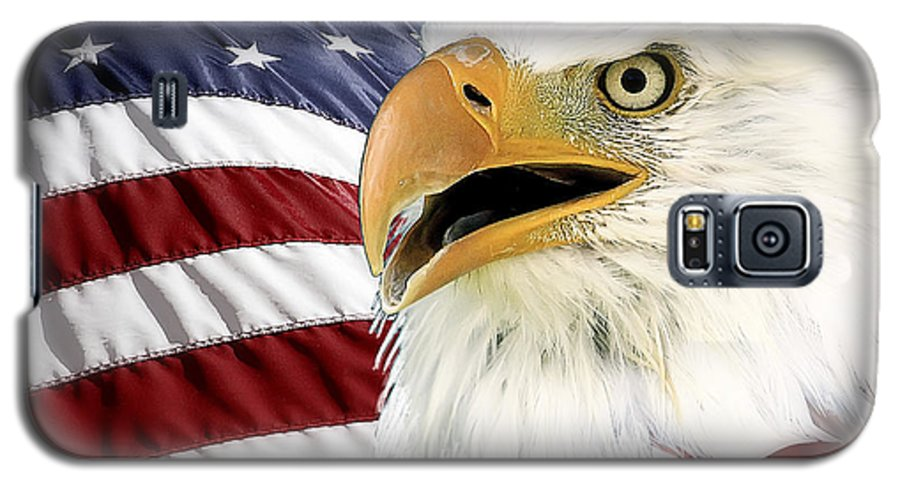 Bald Eagle Galaxy S5 Case featuring the photograph Symbol Of America by Teresa Zieba