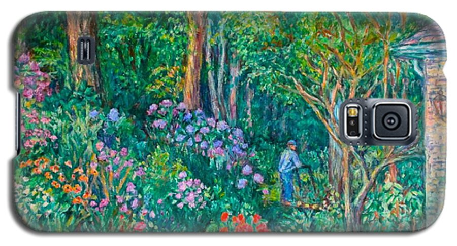Suburban Paintings Galaxy S5 Case featuring the painting Taking A Break by Kendall Kessler