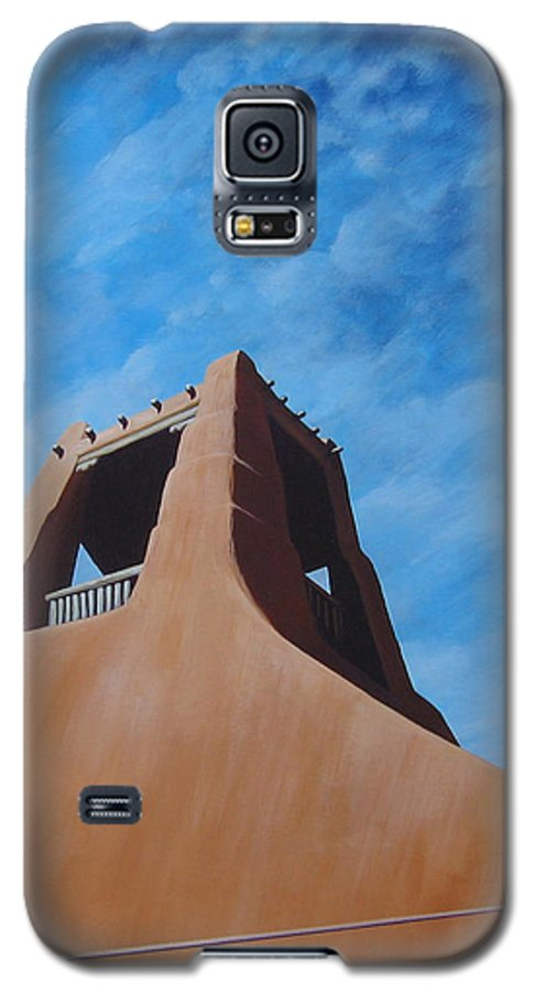 Taos Galaxy S5 Case featuring the painting Taos Memory by Hunter Jay