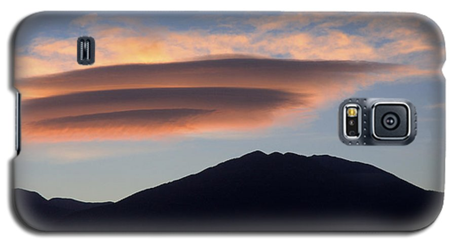 Taos Galaxy S5 Case featuring the photograph Taos Sunset by Jerry McElroy