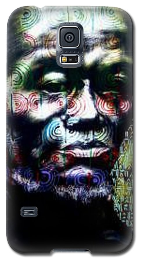 Portrait Galaxy S5 Case featuring the mixed media Tattoo by Chester Elmore